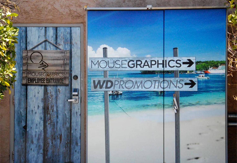 door wrap graphic